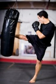 Kick Boxing is a great sport and fitness workout. Get fit with kick boxing.